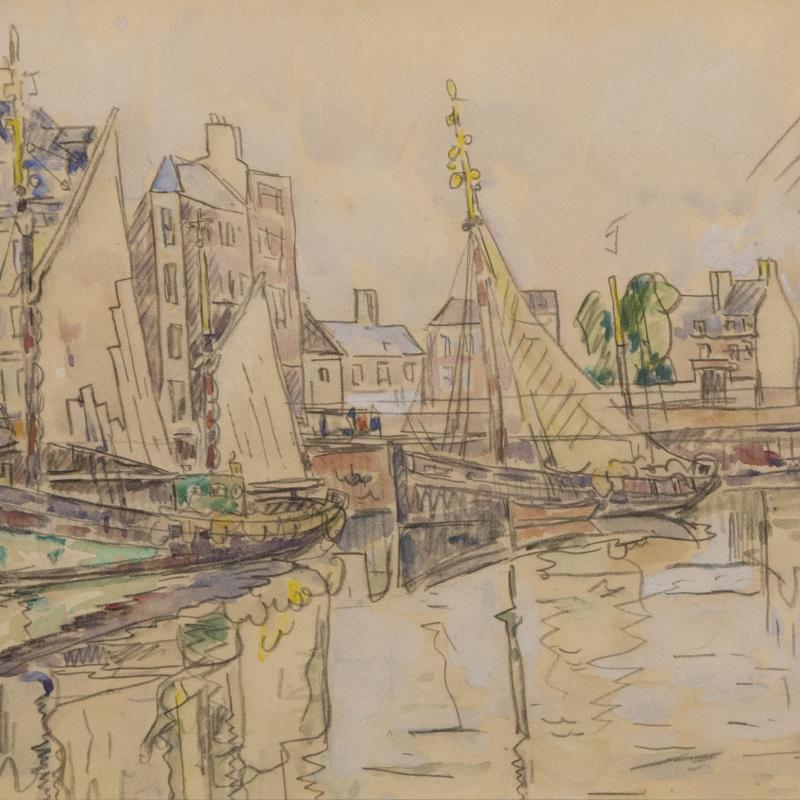 Paul Signac, Cherbourg, 1931