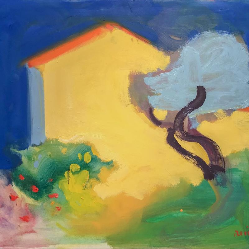 Paul Resika, Blue Tree, 1993-94