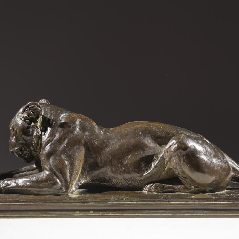 Eli Harvey, Recumbent Lioness, 1904