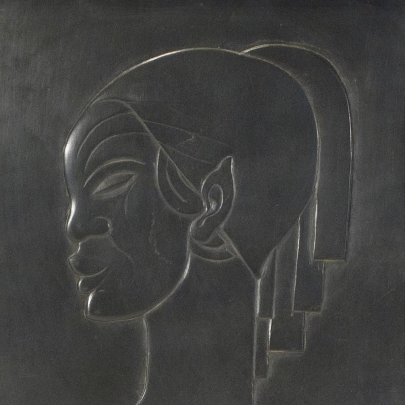 Boris Lovet-Lorski, Profil de Femme, Circa 1935-36