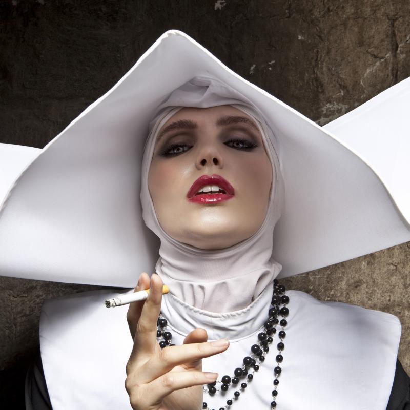 Formento & Formento, Smoking Nun, Cinecitta, Italy, 2012