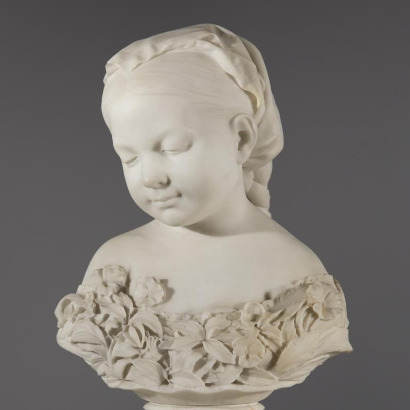 Thomas Ball, La Petite Pensée, Conceived circa 1868, cast 1870
