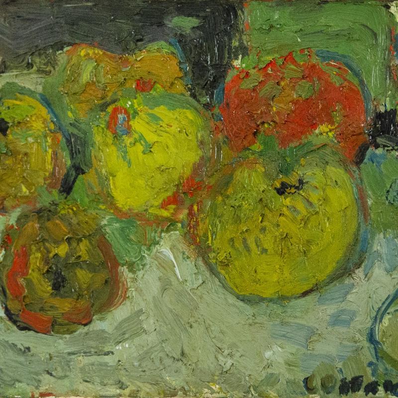 André Cottavoz, Les Pommes, 1953