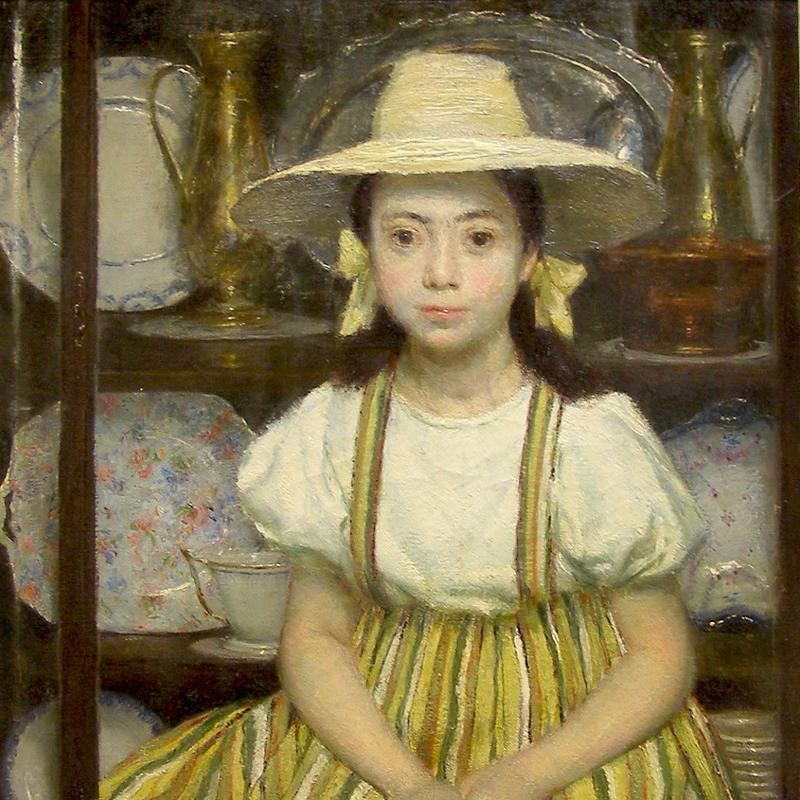 John Koch, Portrait of a Young Girl
