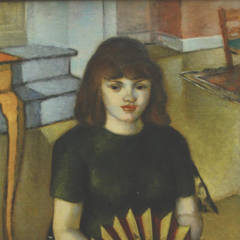 Simka Simkhovitch, Woman with a Fan