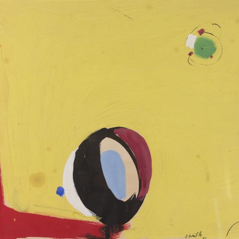 John Grillo, Untitled #69, 1947