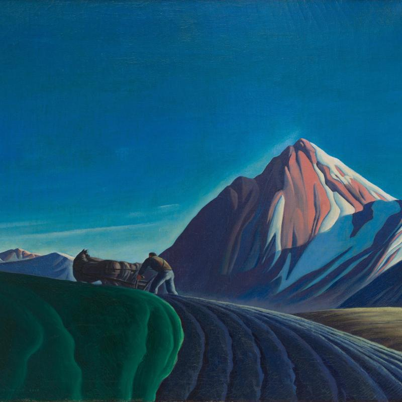 Dale Nichols, Autumn Furrows, 1938