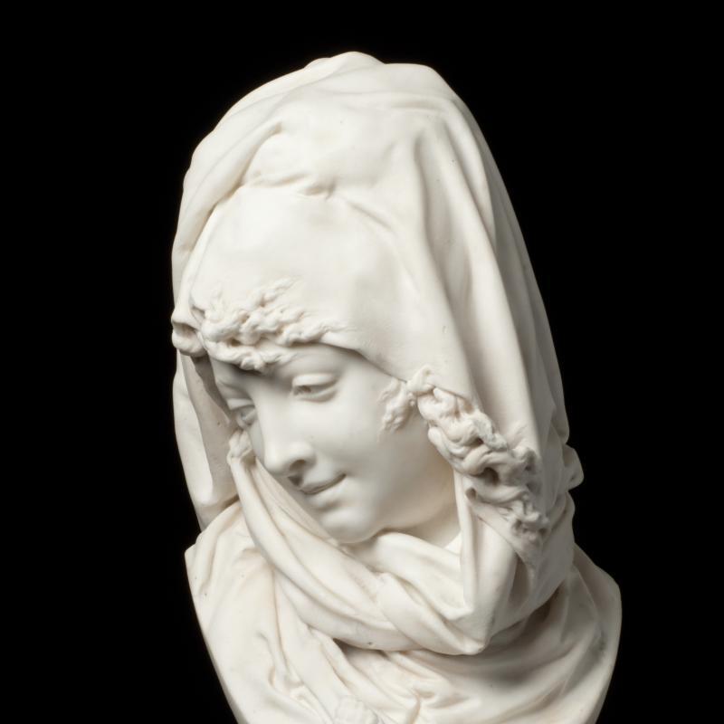 Albert-Ernest Carrier-Belleuse, L'Hiver, Circa 1868