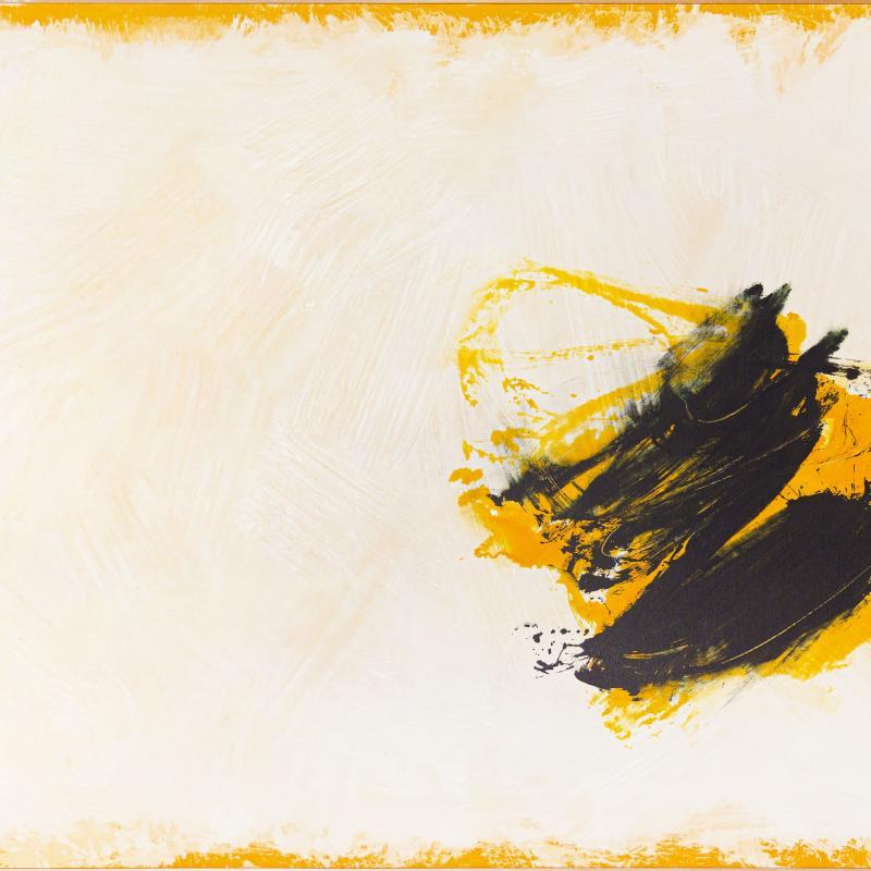 Cleve Gray, Embrace, 1979