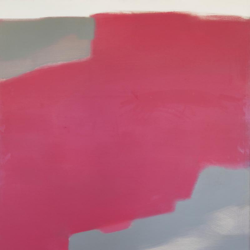 Carl Holty, Big Zen Red-Eyed Goose, 1962