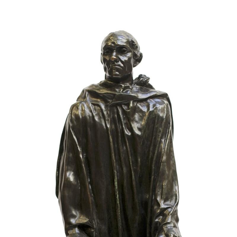 Auguste Rodin, The Burgher of Calais, Circa 1880s