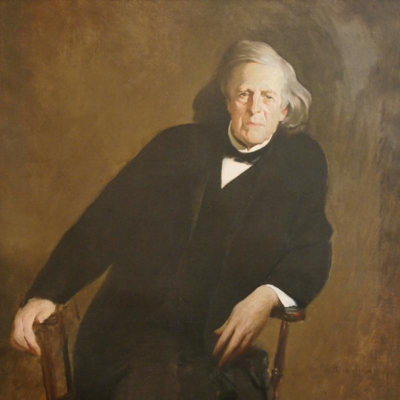 John White Alexander, Portrait of Mercer Beasley