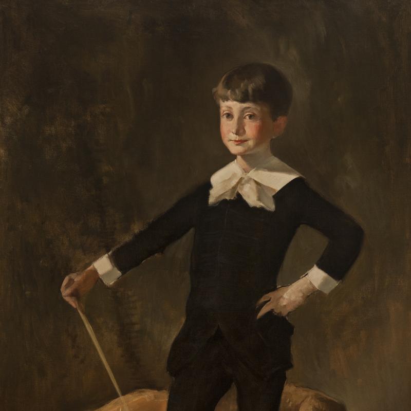 John White Alexander, Portrait of Frederick Beasley Alexander, 1888