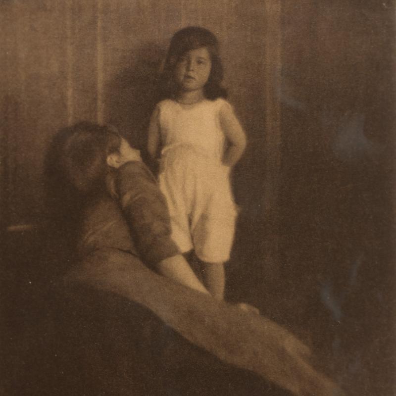 Heinrich Kühn, Mother and Daughter