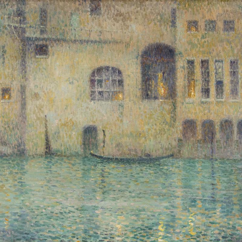 George Loftus Noyes, Venetian Twilight, circa 1910