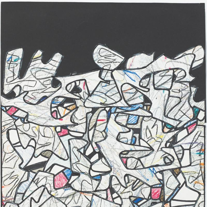 Jean Dubuffet, Paysage, 1974