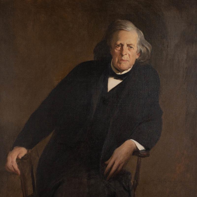 John White Alexander, Portrait of Mercer Beasley