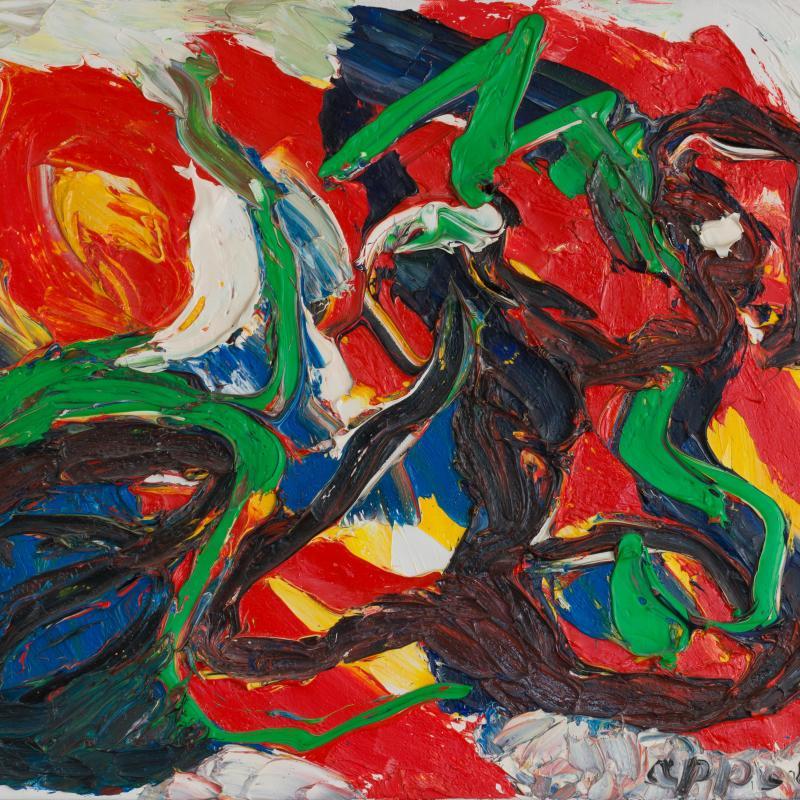 Karel Appel, Composition, circa 1960