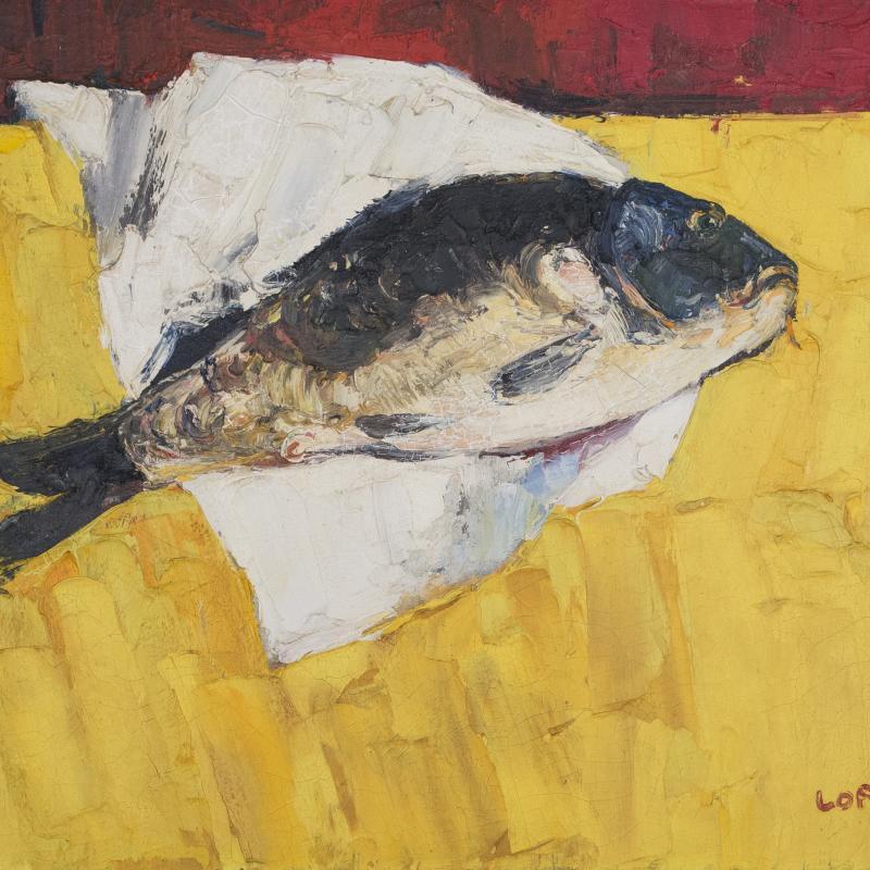 Bernard Lorjou, La Carpe, 1953
