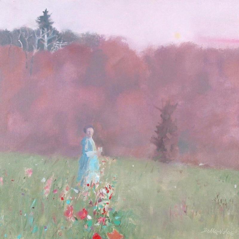 Ralph Della-Volpe, Woman in the Field, 1985
