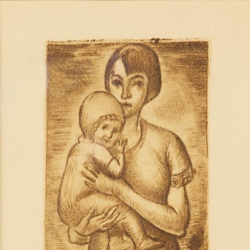 Simka Simkhovitch, Mother and Child