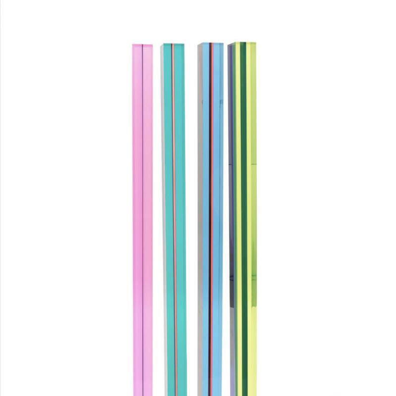 Vasa Velizar Mihich, Four Columns (#1447), 1979