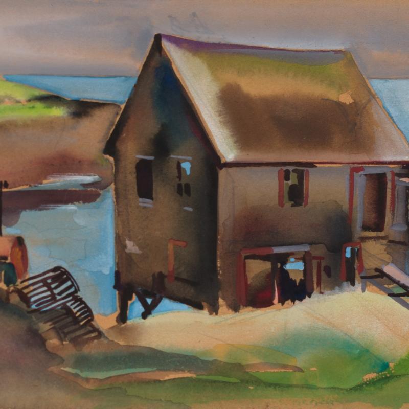 Albert Wein, Monhegan House (Fisherman's Shack)