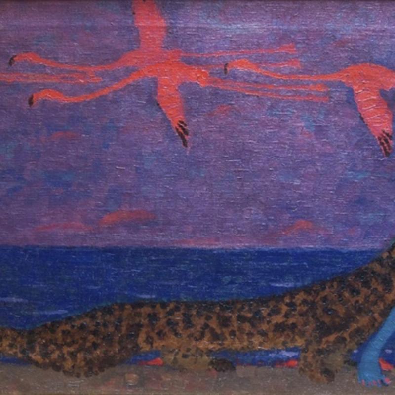 Bertram Hartman, Exotic Fantasy, 1913