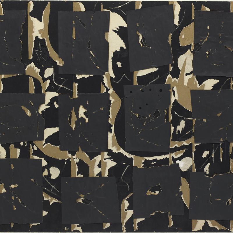 Robert Richenburg, MOMA Collage, 1960