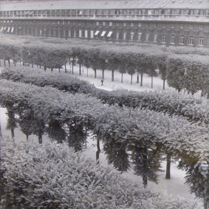 Henri Cartier-Bresson, Palais Royale, Circa 1960