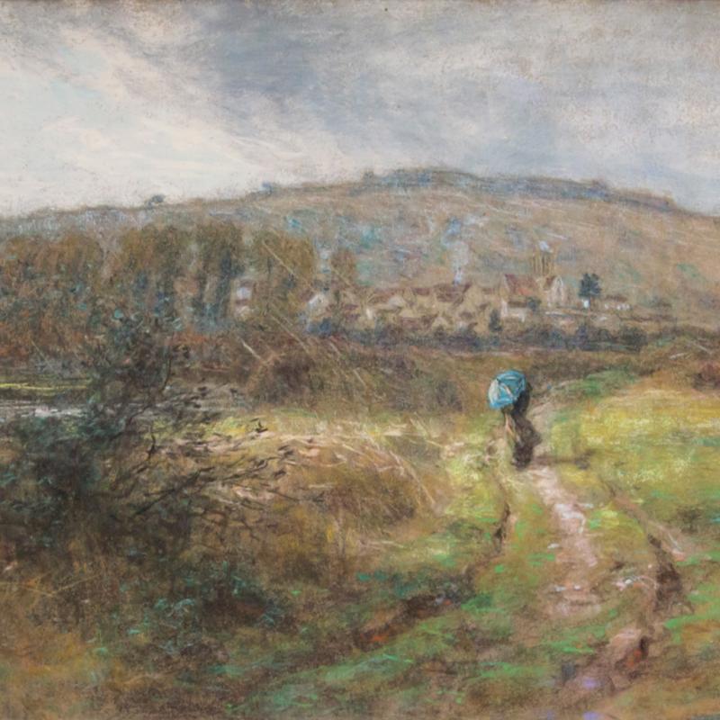 Léon-Augustin L'Hermitte, Chemin face à Chartèves, 1913