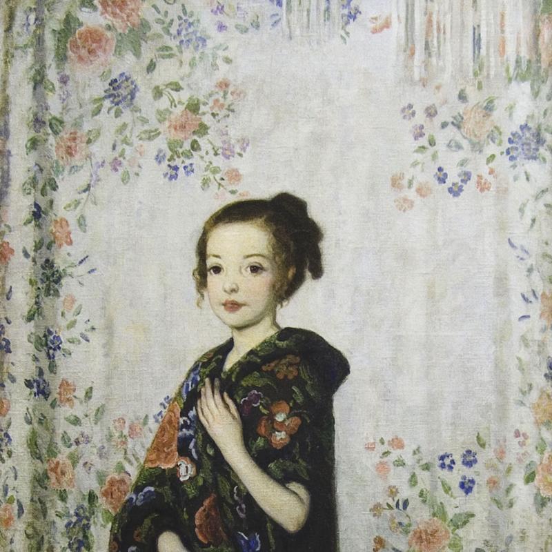 Francis Luis Mora, Spanish Shawls (Rosemary), Circa 1926-28