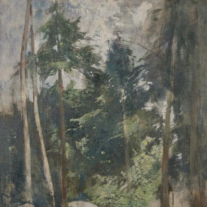 Soren Emil Carlsen, Forest Clearing, Circa 1931