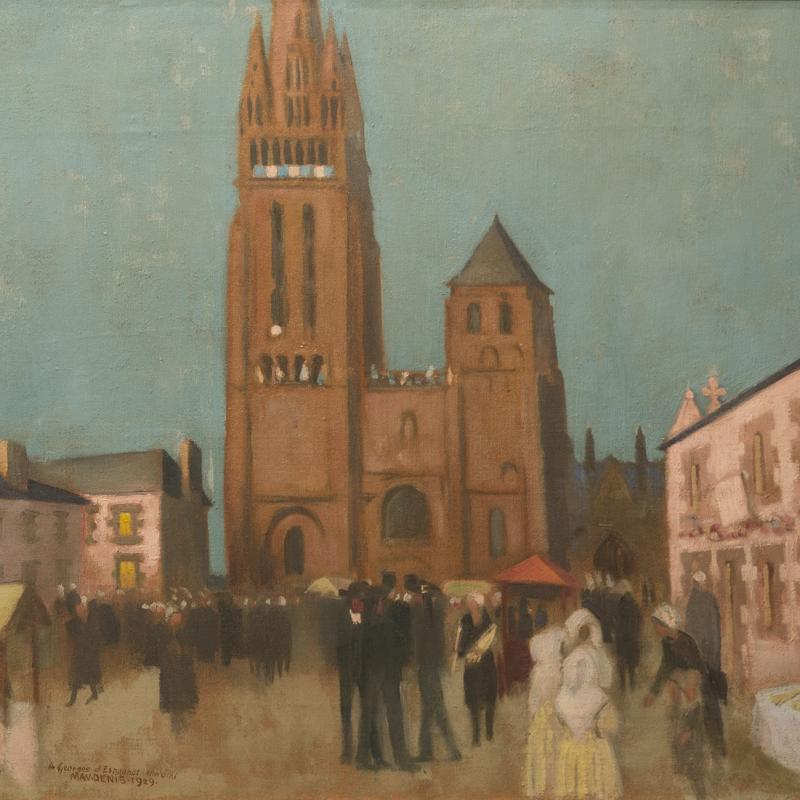 Maurice Denis, Folgoët le Soir, 1929