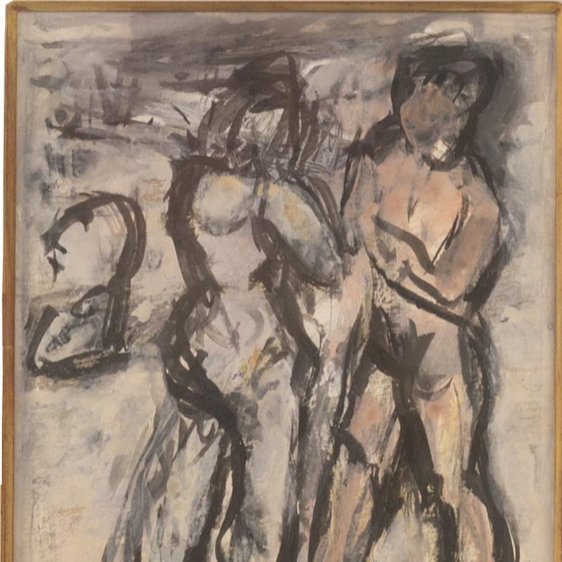 Simka Simkhovitch, Figure Study