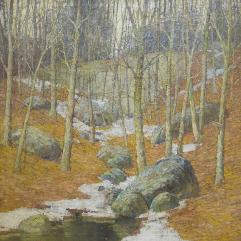 Frederick J. Mulhaupt, Winter Near Gloucester, Massachusetts