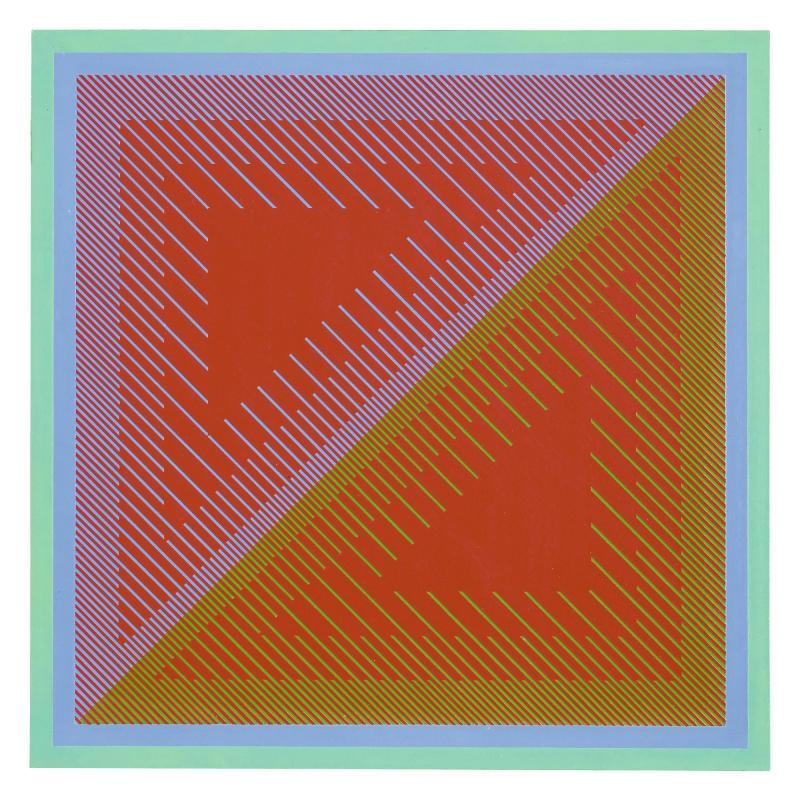 Richard Anuszkiewicz, Untitled II, 1968