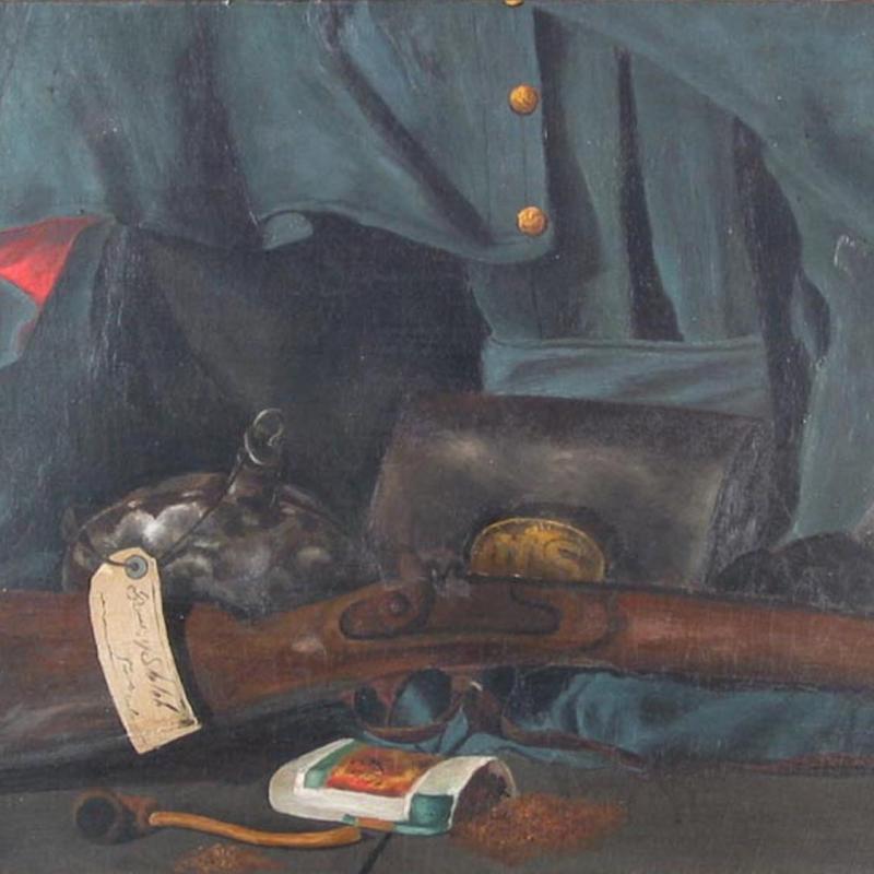 Charles Alfred Meurer, Civil War Still Life