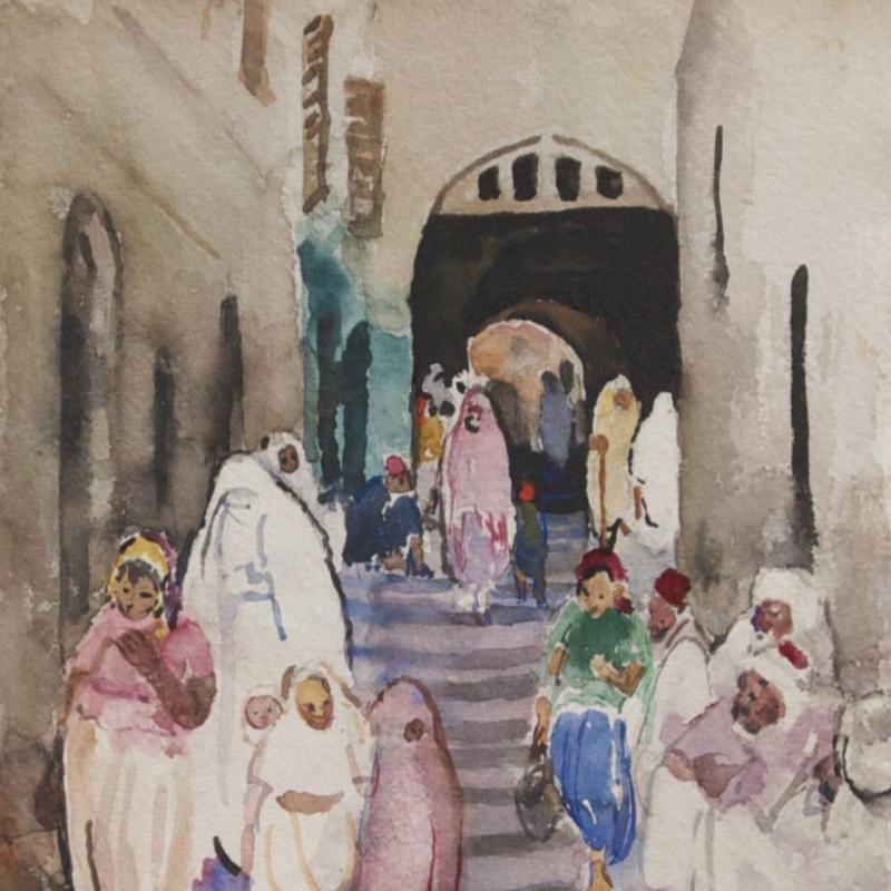 Martha Walter, Archway, North Africa