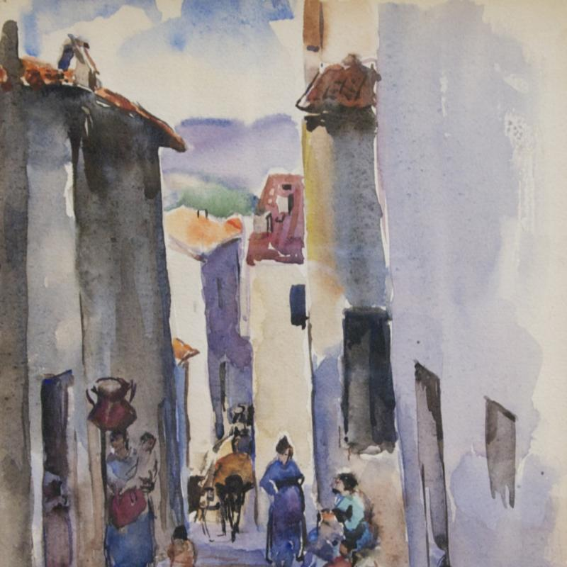 Martha Walter, Spanish Steps