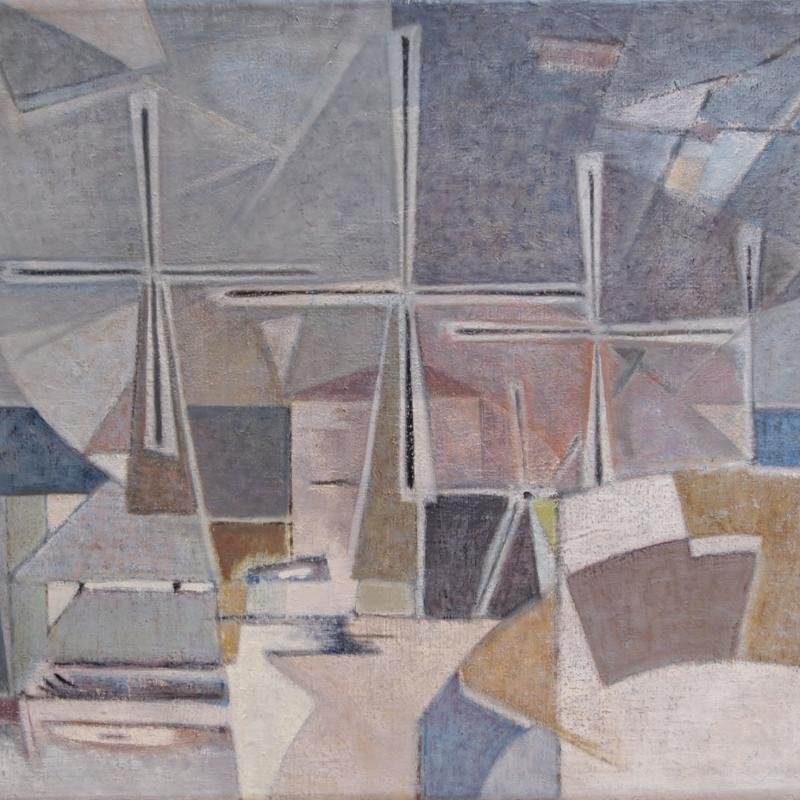 Geer van Velde, Composition, Circa 1960