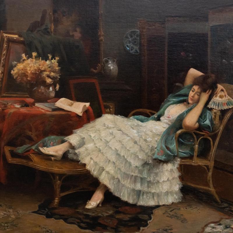 Julius Leblanc Stewart, Repose, 1888