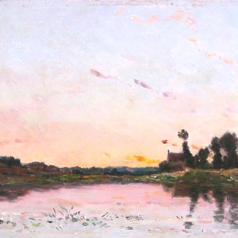 Hippolyte-Camille Delpy, Les Bords de l'Etang