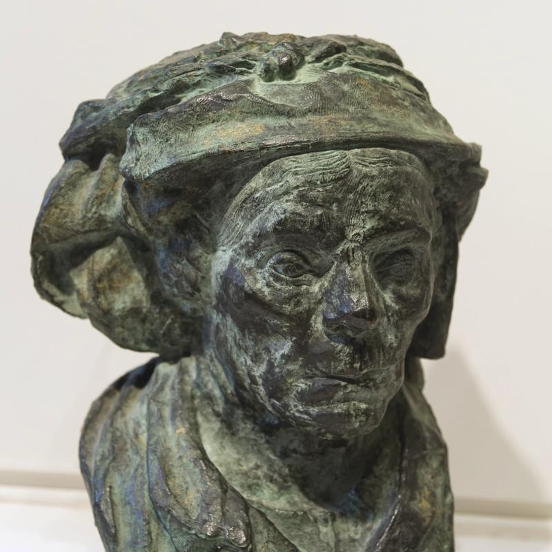 Emile Antoine Bourdelle, Bust of an Old Woman, 1907