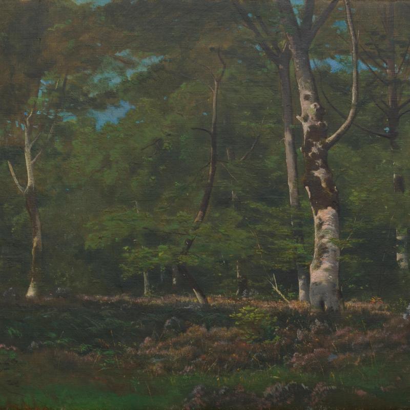 Leon Richet, Un Sois-Bois, 1861