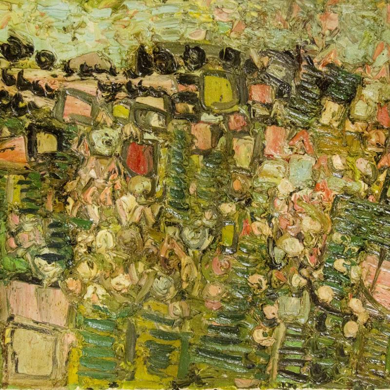 André Cottavoz, La Campagne en Fleurs, 1957