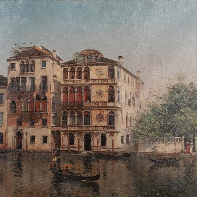 Warren W. Sheppard, Pallazzo Dario