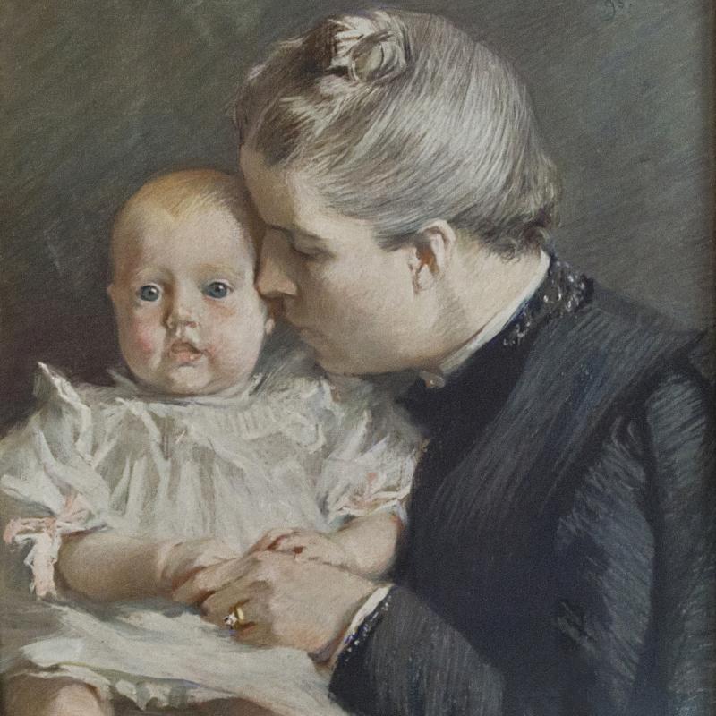 Lydia Field Emmet, The Grandchild, 1895