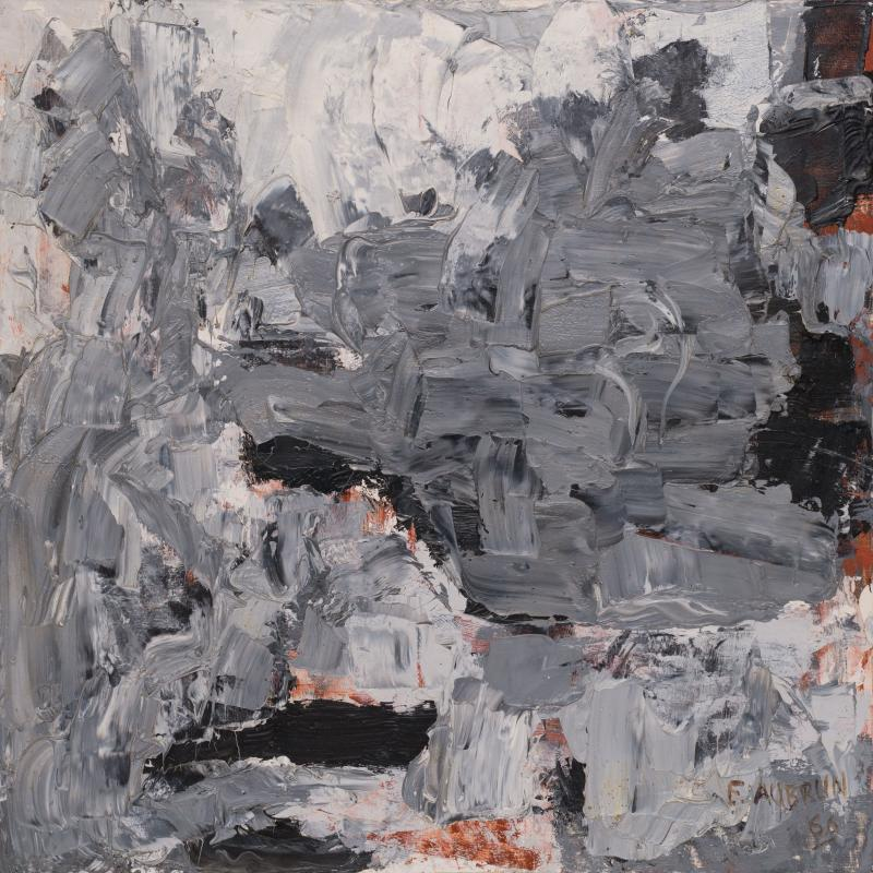Francois Aubrun, Untitled #263, 1966