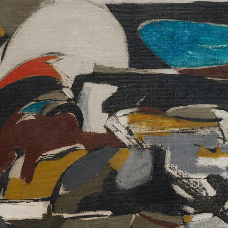 Michael Goldberg, Untitled, 1950
